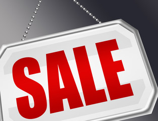 sale door sign