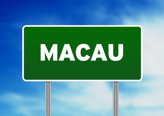 Macau Highway Sign