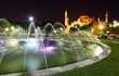 Hagia Sofia and fountain - Istanbul