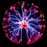 Fototapety Plasma Ball, dark background.