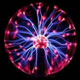 Fototapety Plasma Ball, dark background.