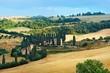 Italian countryside in Tuscany