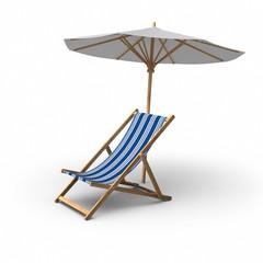 Chair & Umbrella