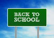 Back To School Highway Sign