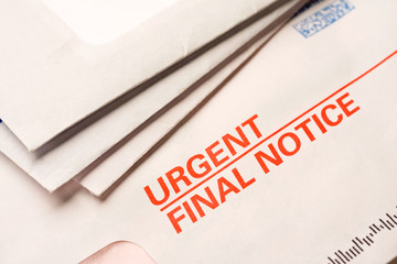 Final notice mail