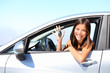 Car driver woman - 33872038
