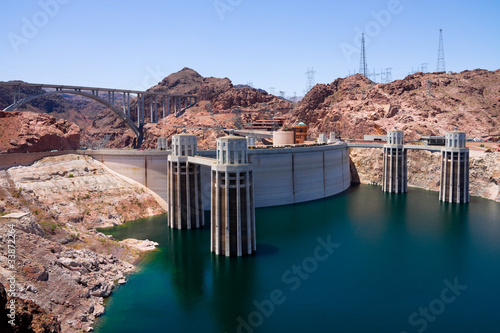 Hoover Dam from Arizona side
