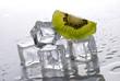 cubetti ghiaccio e kiwi - tre