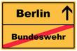 Schild Berlin Bundeswehr