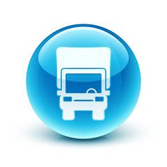 icône camion livraison / truck icon