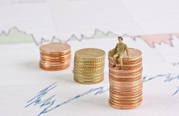 Aktien,Börse und  Gewinn © Matthias Buehner
