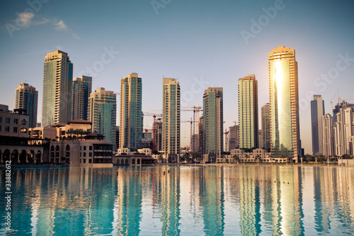 Plexiglas Dubai Dubaï ville