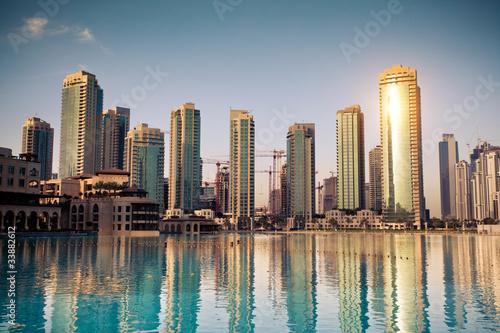Foto Spatwand Dubai Dubaï ville