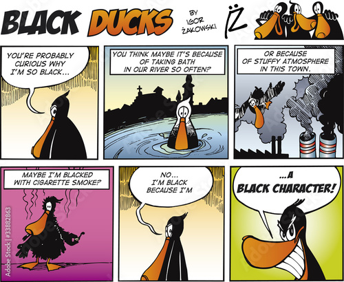 In de dag Comics Black Ducks Comics episode 67