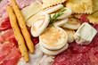tagliere di slaumi,tigelle e gnocco fritto