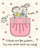 Friends Are Like Pockets