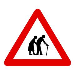 Attenzione alle persone anziane