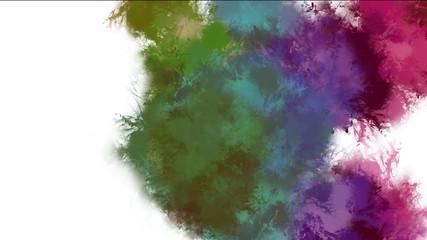Grunge splat background.