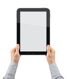 Holding Vertical Tablet PC