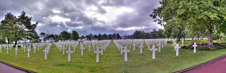 Panorama HDR du cimetière américain de Colleville-Sur-Mer