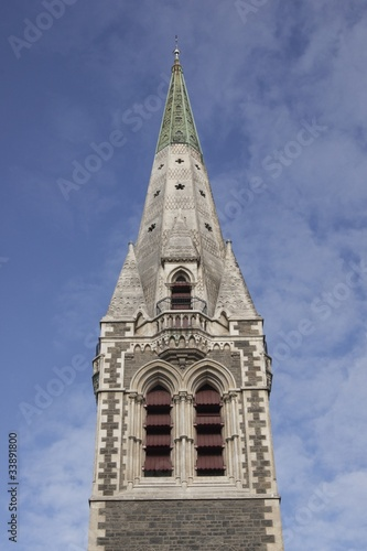 Christ Church Cathedral in New Zealand