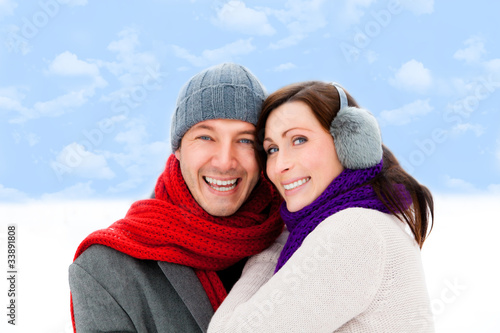 winter couple