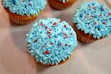 Americana Pride Cupcakes poster