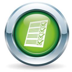 Checkliste - Button grün