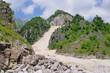 Carrara Marmor Steinbruch - Carrara  marble stone pit 21