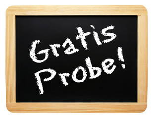 Gratis Probe ! - Marketing und Service