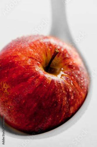 Apfel im Detail