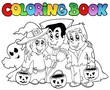 Coloring book Halloween topic 3 - 33911012