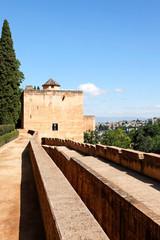 Torre de las Infantas, Alhambra, Granada/Spanien