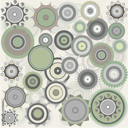 abstract pattern background wallpaper made from figures © fotoscool