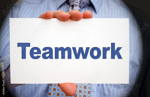 Teamwork - Business Concept