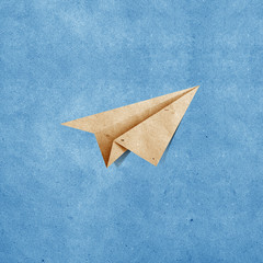 aircraft  recycled paper