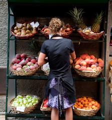 spesa dal fruttivendolo