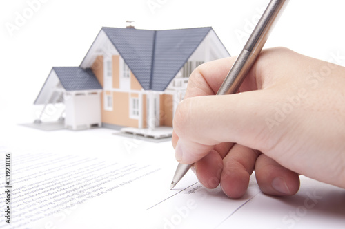 Mortgage contract - 33923836