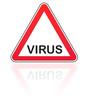 attention danger  virus
