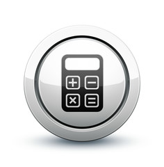 icône calculatrice finance