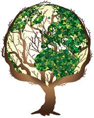 albero e mondo