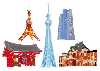 Tokyo showplace Symbol of Tokyo 2