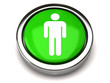 Green male icon