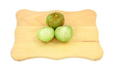 Tomatillos Whole and Cut