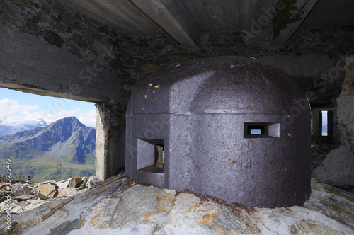 observation tower - fort Malamot - Vallo Alpino, Mont Cenis
