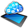 tablet & cloud