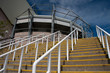 Steps at St James' Park, Newcastle, venue for 2012 Olympic Socce