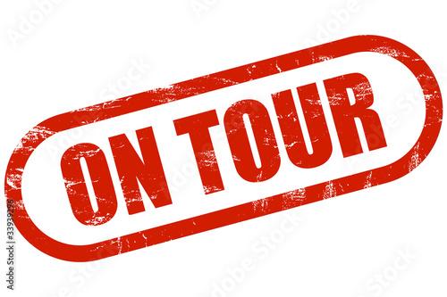 Grunge Stemepl rot ON TOUR