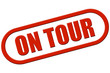 Stempel rot rel ON TOUR