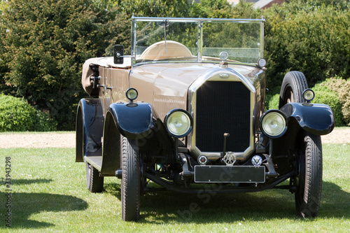 Plexiglas Oude auto s Antique luxury classic car